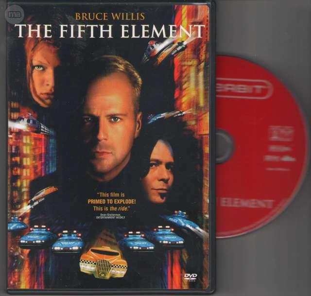 DVD THE FIFTH ELEMENT (LE CINQUIÈME ÉLÉM