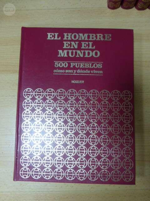 EL HOMBRE EN EL MUNDO-1976 6 TOMOS NUEVA - foto 2