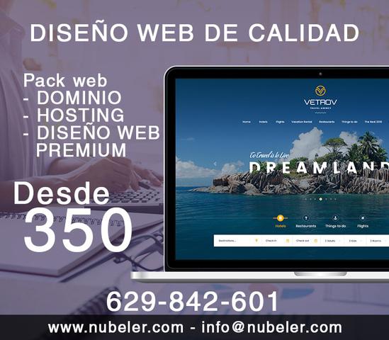 TU SITIO WEB CON DISEÑO A MEDIDA! - foto 1