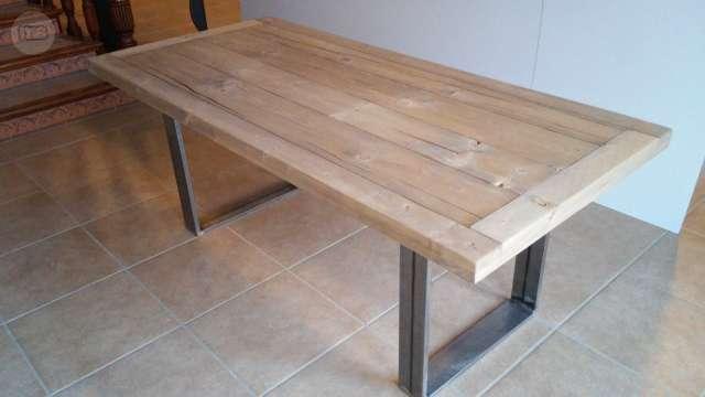 hachup | mesas de comedor de madera rustica