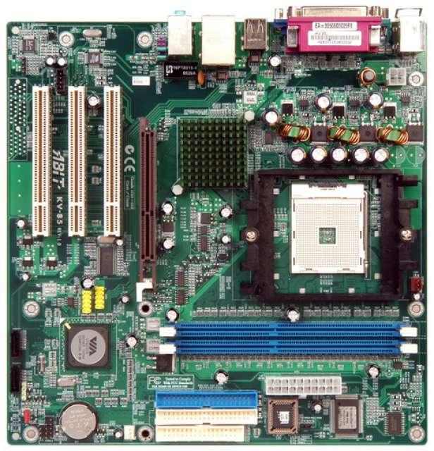 PLACA BASE ABIT KV-85 AMD SOCKET 754 - foto 1