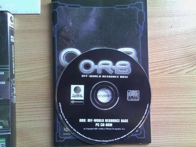 O  R  B  : OFF- WORLD RESOURCE BASE