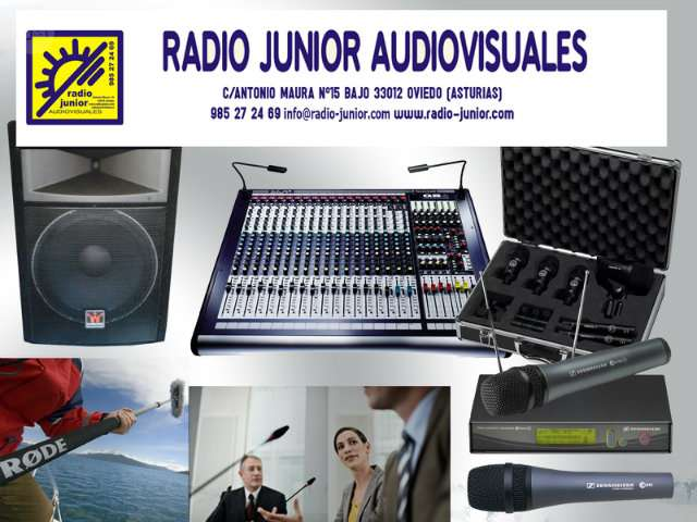 ALQUILER EQUIPOS AUDIOVISUALES - foto 1