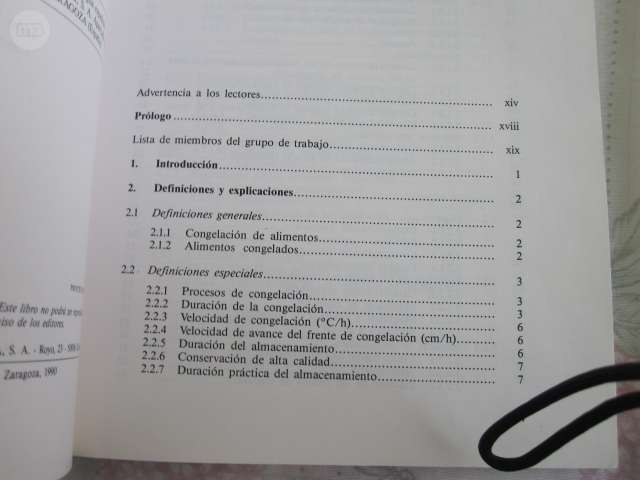 ALIMENTOS CONGELADOS / LIBRO/ TECNICO - foto 3