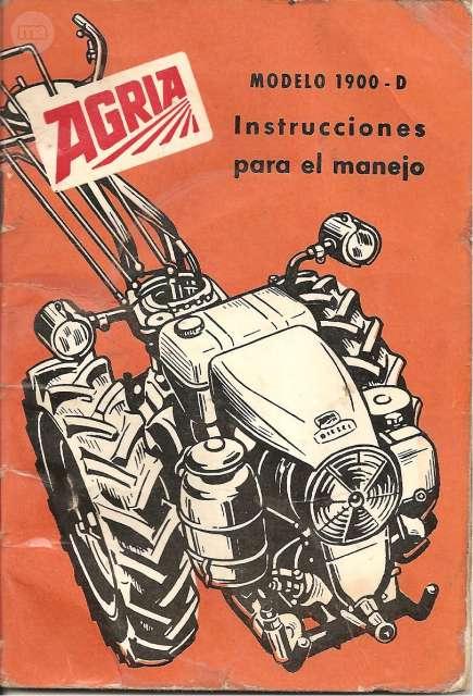 MANUAL AGRIA MODELO 1900-D JLO MOTOR