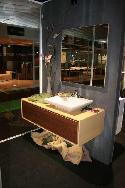 Lavabos Para Baños Segunda Mano: de 80 40 cm , lacado Frente en nogal acabado mate 1 espejo Lavabo