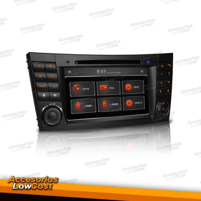 RADIO GPS DVD 2DIN MERCEDES E W211 7 HD