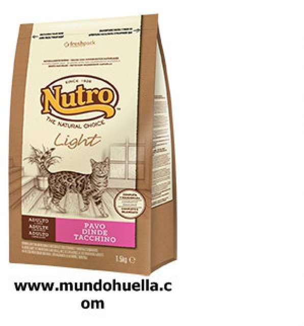 NUTRO NATURAL LIGHT PAVO 1, 5KG
