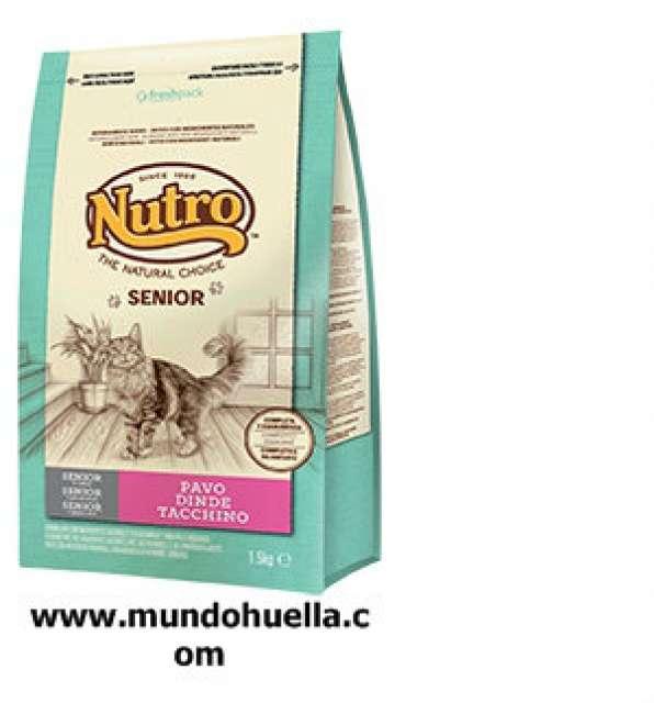 NUTRO NATURAL SENIOR PAVO 1, 5KG