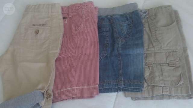 Niño t.12 18m pantalón de pana camisa Zara de segunda mano