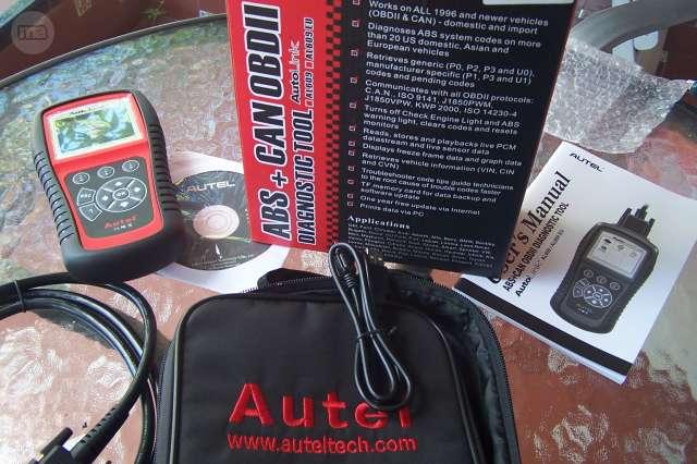 AUTEL 609  ABS DIAGNOSIS MOTOR - foto 7