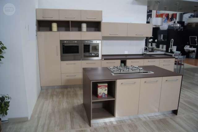 MIL ANUNCIOS.COM - Cocina Forlady Moka brillo. Frontal+Isla