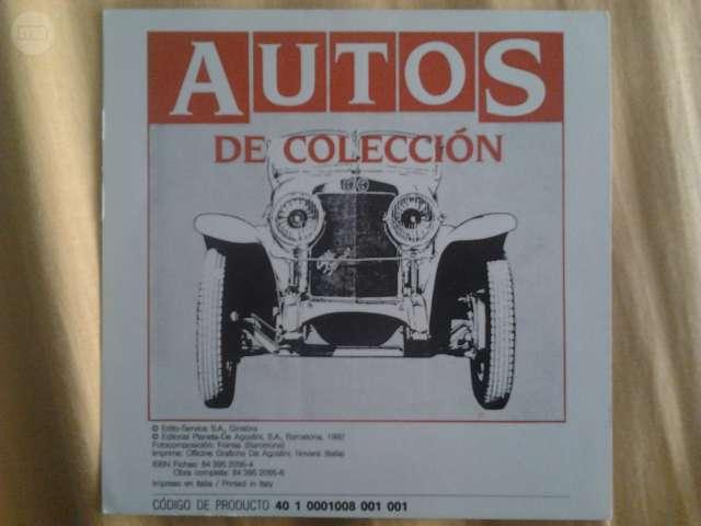 Fichas De Coches De Colección