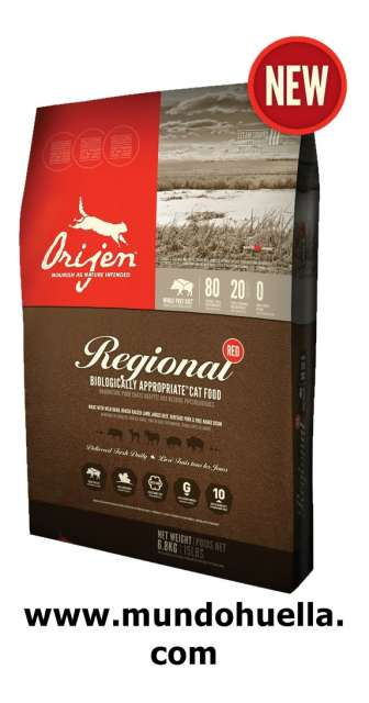 ORIJEN CAT REGIONAL RED 2, 27KG