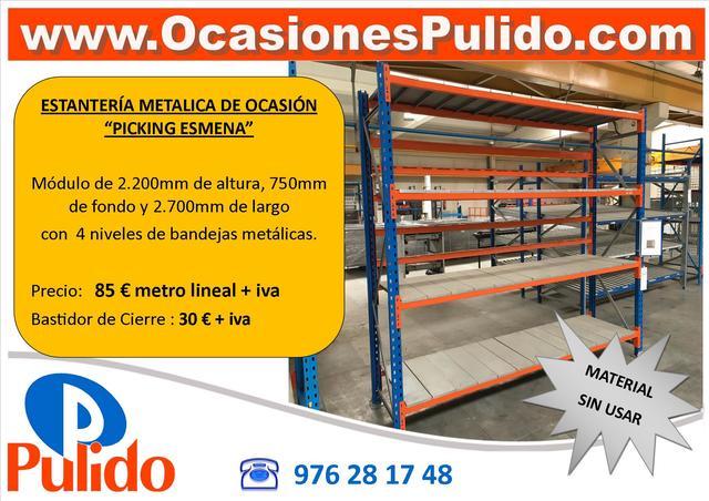 Fabrica De Estanterias Metalicas En Zaragoza.Mil Anuncios Com Estanterias Metalicas Compra Venta De Mobiliario
