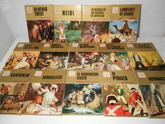 12 LIBROS BRUGUERA COLEC. HISTORIAS COLOR - foto 1