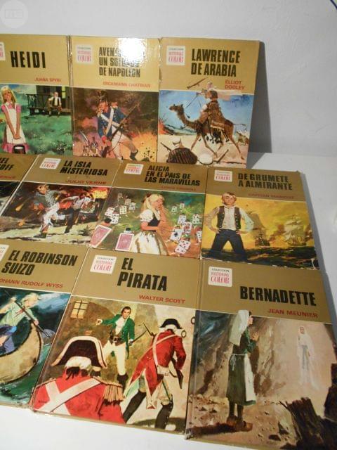 12 LIBROS BRUGUERA COLEC. HISTORIAS COLOR - foto 3