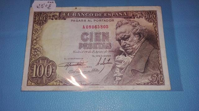 100 Pesetas 1946** Serie  A  ......805**