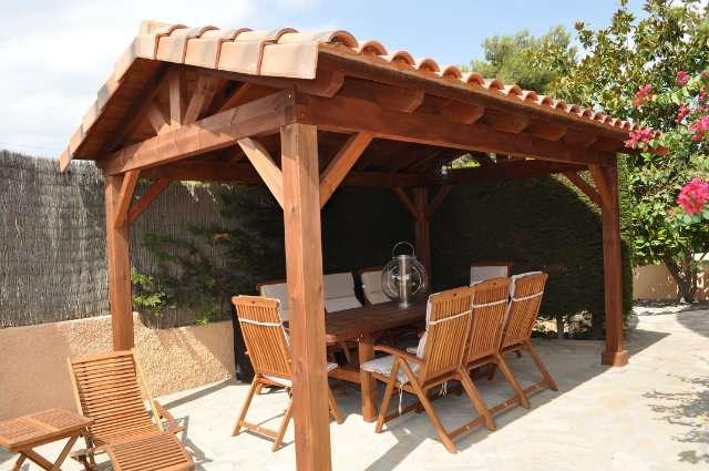 a624d095 MIL ANUNCIOS.COM - Porche madera pergola madera cenador
