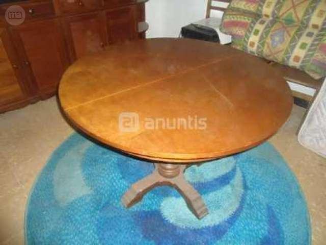 MIL ANUNCIOS.COM - Mesa redonda extensible. Muebles mesa ...