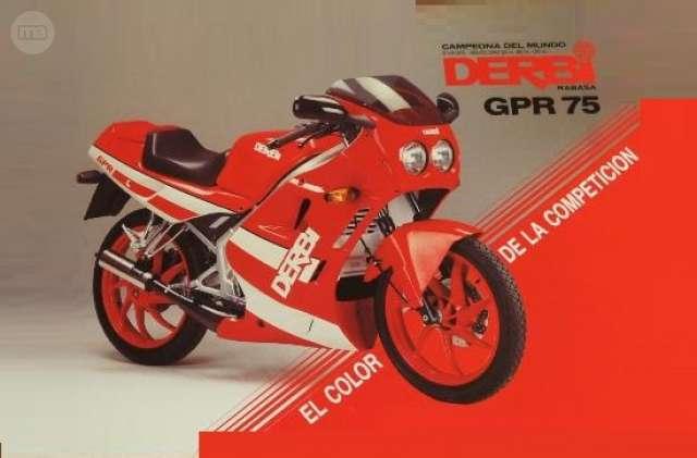 Adhesivos para Llantas Moto Derbi GPR 50 Rojo