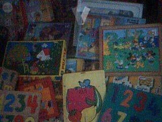 PUZZLES INFANTILES Y JUEGOS EDUCATIVOS