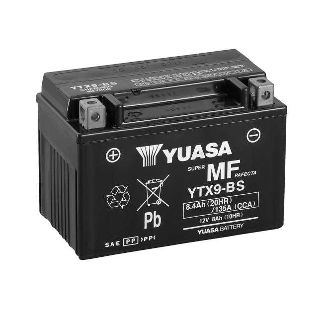 BATERIA YUASA YTX9-BS CON ACIDO