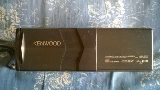 CARGADOR CD(10)KENWOOD KDC-C717