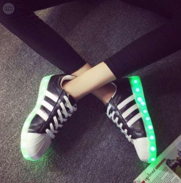 zapatillas con luces adidas