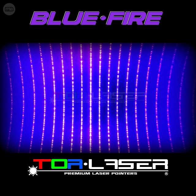 PUNTERO LASER VIOLETA 500MW BLUEFIRE - A