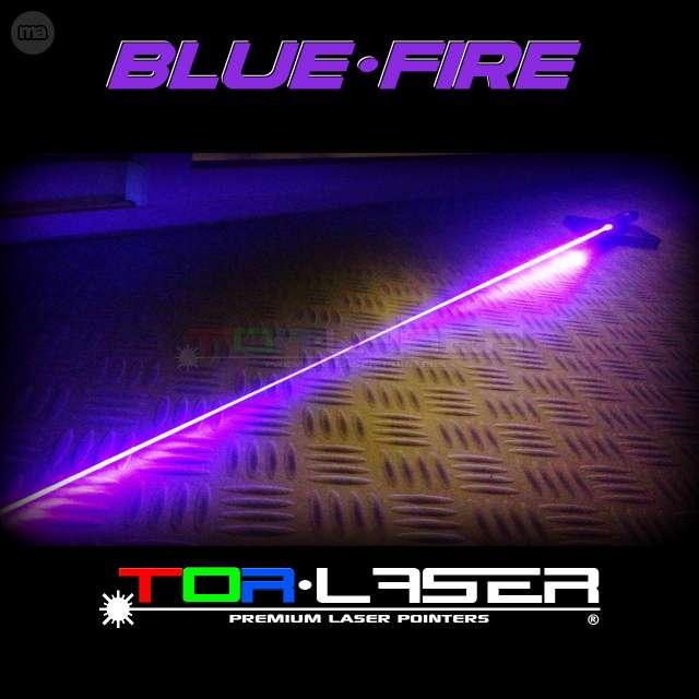 PUNTERO LASER VIOLETA 500MW BLUEFIRE - B