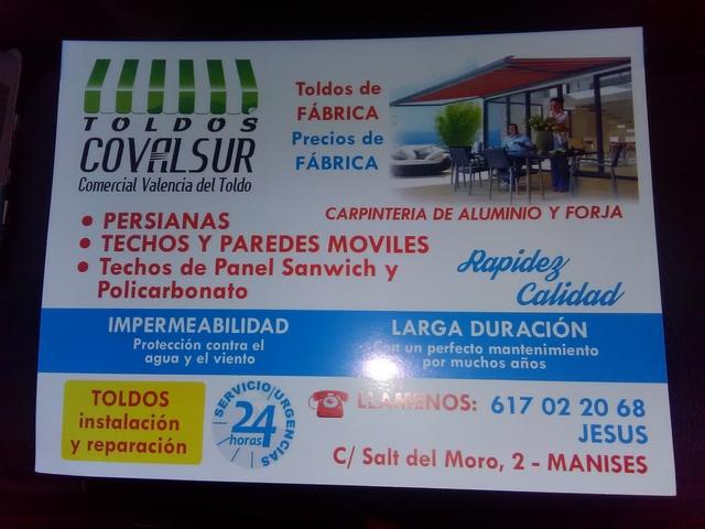 FABRICA DE TOLDOS,  INSTALADORES - foto 2