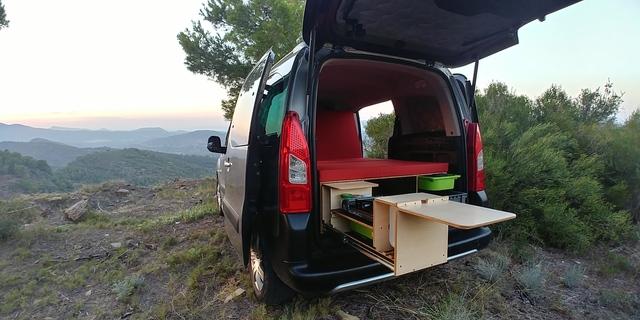 Mil Anuncios Com Mueble Mini Camper Módulo Kangoo Berlingo