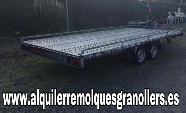 ALQUILER PORTACOCHES 1350 1600KG 2750 KG