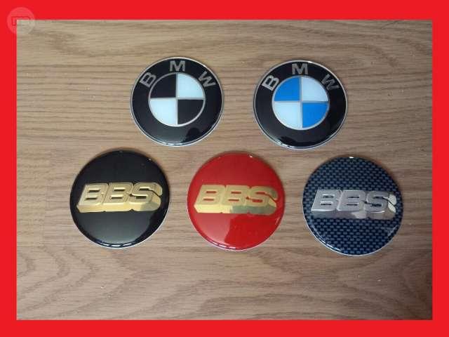 LOGOS TAPAS LLANTAS BBS, BMW 63MM