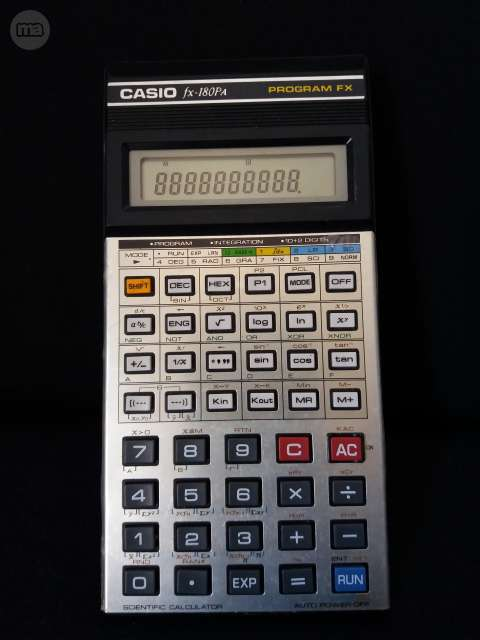 Calculadora Casio Fx180Pa