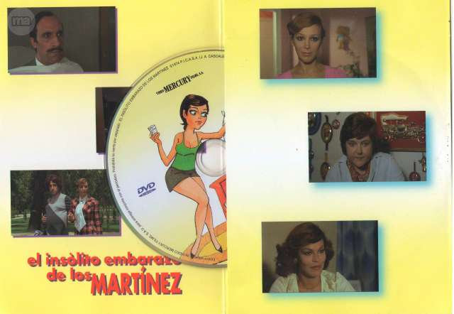 DVD EL INSÓLITO EMBARAZO DE LOS MARTÍNEZ