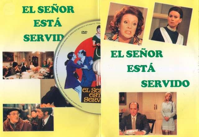 DVD EL SEÑOR ESTÁ SERVIDO