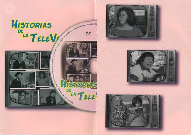 DVD HISTORIAS DE LA TELEVISIÓN