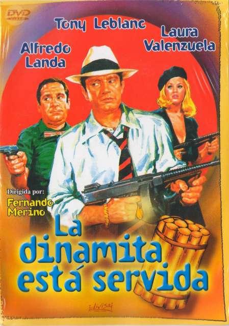 DVD LA DINAMITA ESTÁ SERVIDA