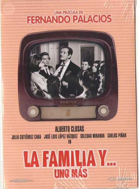 DVD LA FAMILIA Y UNO MÁS