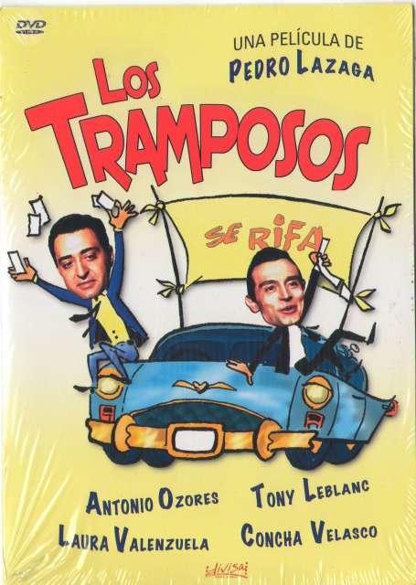 DVD LOS TRAMPOSOS -DIRECTOR PEDRO LAZAGA