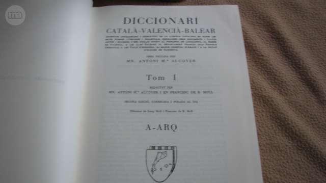 DICCIONARI CATALÀ-VALENCIA-BALEAR.  - foto 2