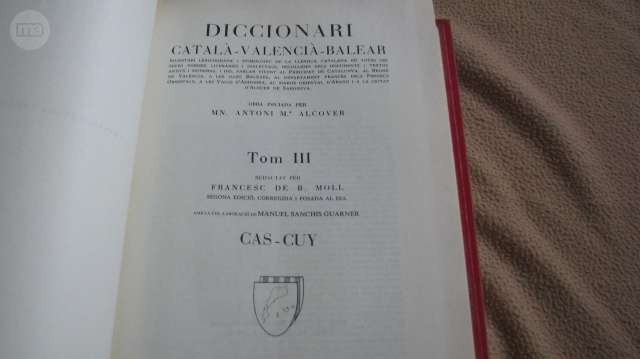 DICCIONARI CATALÀ-VALENCIA-BALEAR.  - foto 3