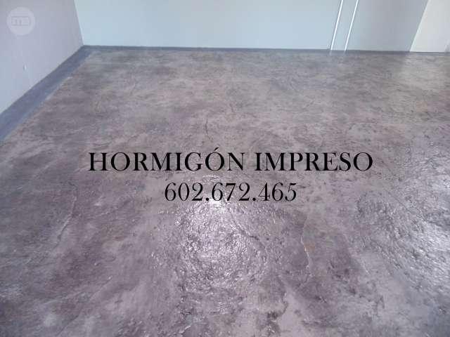 PAVIMENTACIÓN DE HORMIGÓN IMPRESO, PULID0 - foto 3