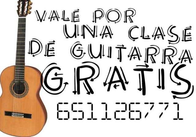 CLASES DE GUITARRA GRATIS - foto 1