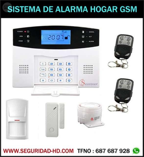 KIT DE ALARMA TECNOLOGIA GSM CON AVISOS