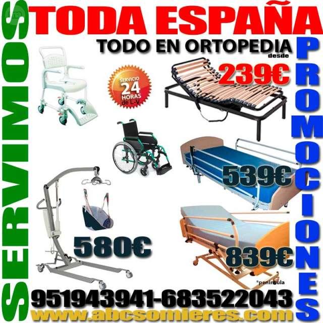 CAMAS ELECTRICAS ARTICULADAS, GRUAS