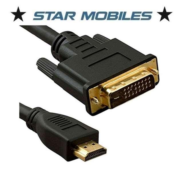 CABLE DVI A HDMI MACHO MACHO 2 M - HDMI