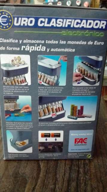 VENDO EURO CLASIFICADORA - foto 2